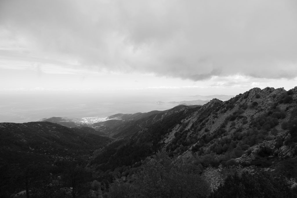 The view from Monte Capanne