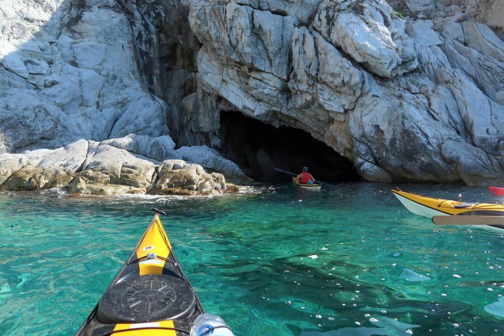 Sea kayaking at Elba with Sea Kayak Italy
