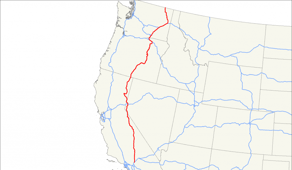US395 Map