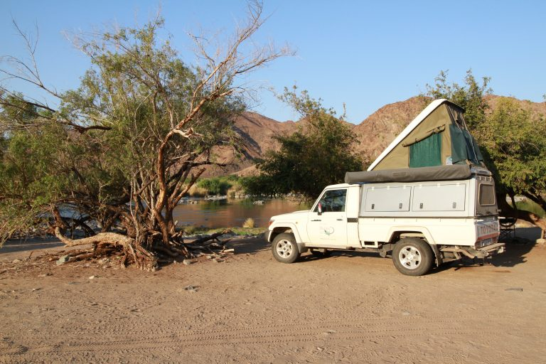 Dehoop campsite at Richtersveld Transfrontier Park in South Africa